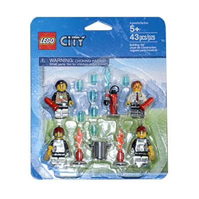 LEGO City Firefighters Minifigure Accessory Pack 850618: Toys & Games