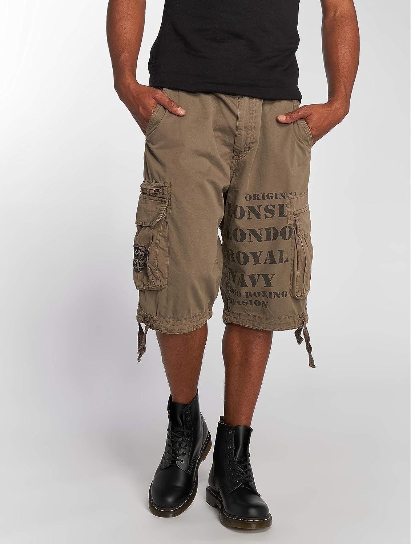 Lonsdale Shorts Plain Pantalones Cortos de Deporte para Hombre