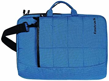 8b5ee54307d0 Image Unavailable. Image not available for. Colour  Fastrack Men s Polyester  Blue Messenger Bag ...