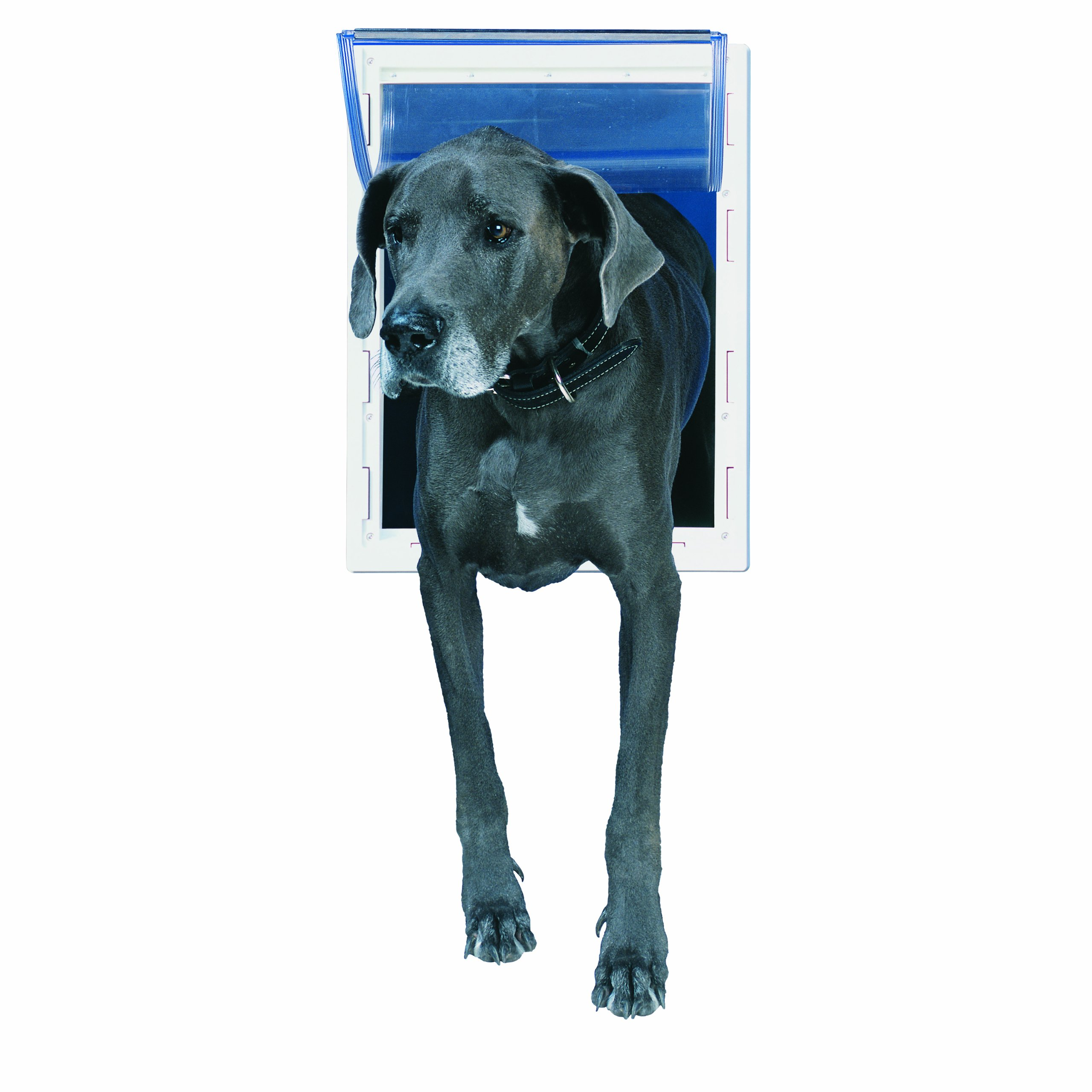 Perfect Pet Pet Door with Telescoping Frame, Super Large, 15'' x 20'' Flap Size