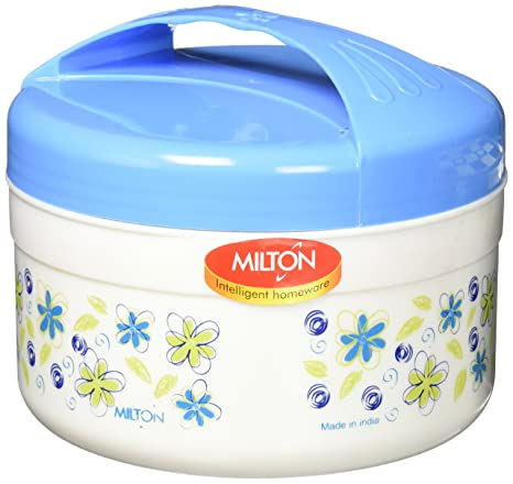 e27395ddd4fd Amazon.com: Milton Treat Mega Round Lunch Box, White, 1200 ml ...