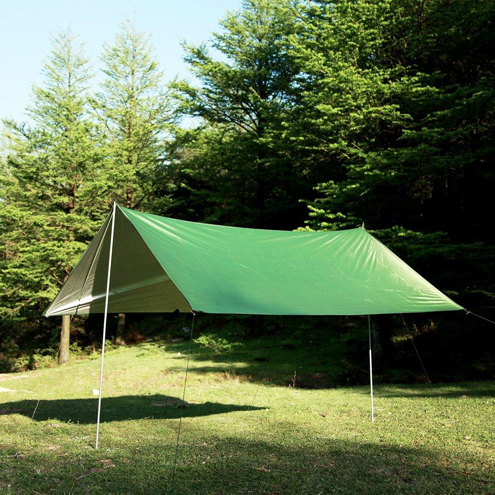 UUNITONA Camping Tarps Hammock Rain Fly 3mx3m Waterproof Backpacking Shelter Camping Backpacking Camping Picnic Accessories UUNITONA Ltd.