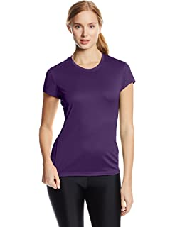 asics t shirt purple