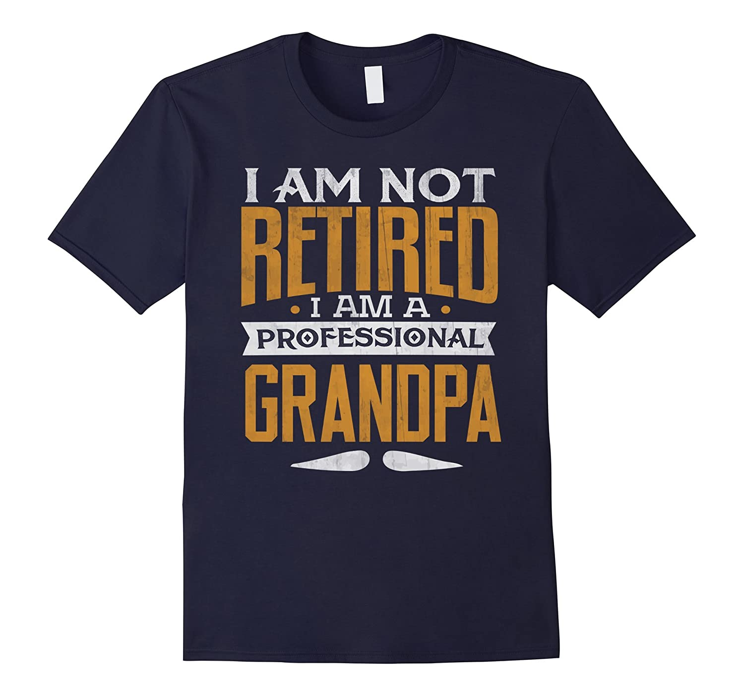 Retired Professional Grandpa Retirement Heather-Samdetee