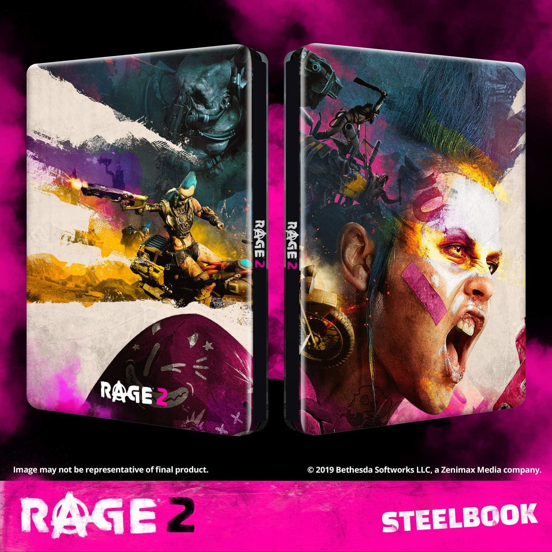 RAGE 2 - Steelbook [Enthält kein Spiel] [ ] [Importación alemana ...