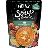 Heinz Soup of The Day 7 Veg withgarden Herbs Soup Pouch, 430g