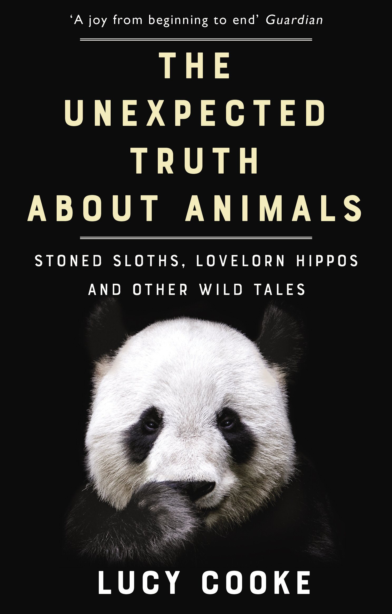 amazon the unexpected truth about animals stoned sloths lovelorn