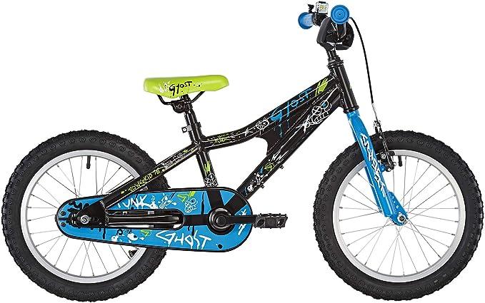 Ghost Powerkid AL 16 - Bicicletas para niños - Azul/Negro 2019 ...
