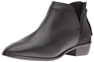 Kenneth Cole REACTION Women's Loop There It is Ankle Bootie, Black, ...