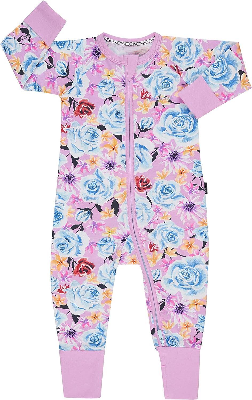 So Extra Blooms Pink Bonds Zip Wondersuit