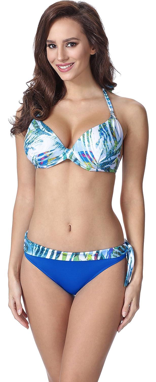 Feba Push Up Bikini Bañadores Trajes de Baño Conjunto Tops Sujetador y Bragas Ropa Vestidos Playa Verano Mujer F11: Amazon.es: Ropa y accesorios