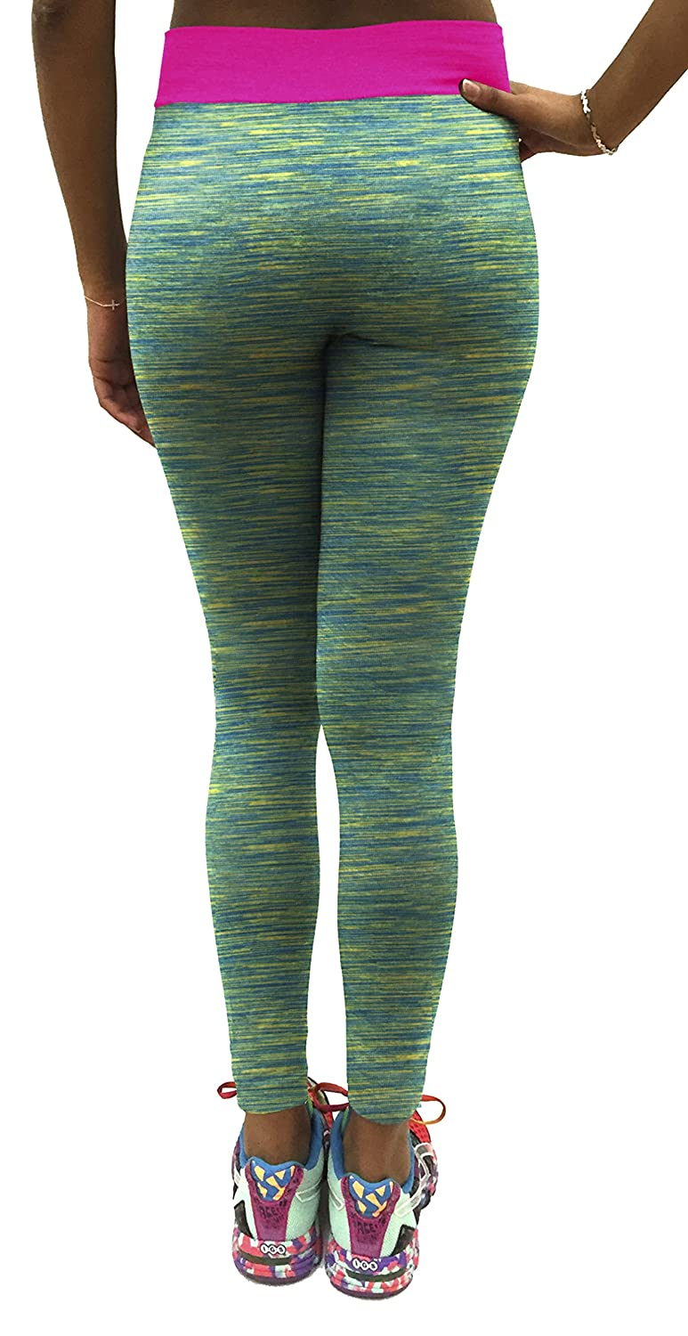 Stay Dry Wide Flip Stretch Yoga Leggings