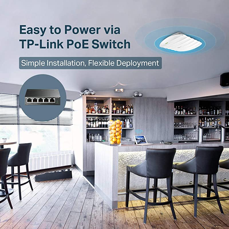 TP-Link Omada AC1750 Gigabit Ceiling Mount Wireless Access Point