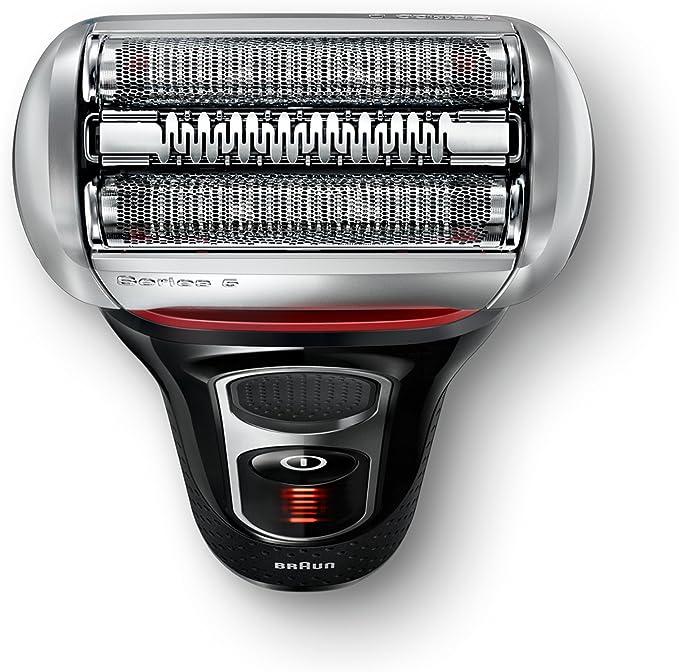 Braun 5070 Serie 5 - Afeitadora con cabezal basculante, cuchillas Power Comb, lámina Smart Foil, sistema de afeitado en 3 fases, color negro: Amazon.es: Salud y ...