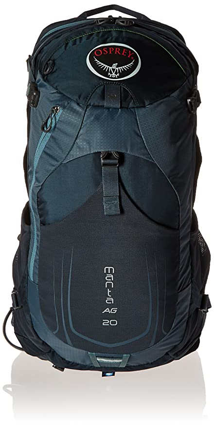 e8f715fe236 Amazon.com   Osprey Packs Manta AG 20 Hydration Pack, Fossil Grey ...