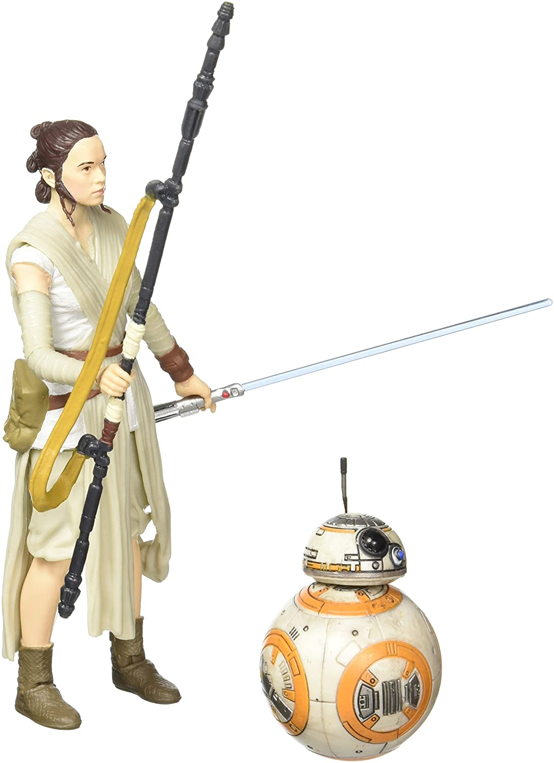 REY JAKKU STAR WARS THE BLACK SERIES #02 /& BB-8