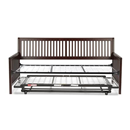 Amazoncom Leggett Platt Mission Complete Wood Daybed With Link