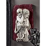 Design Toscano Flesh and Bone Skeleton Wall Sculpture