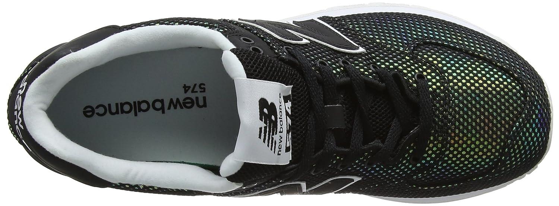 New Balance574v2-574v2 Damen Schwarz (schwarz weiß) 35 D D D EU 02c401