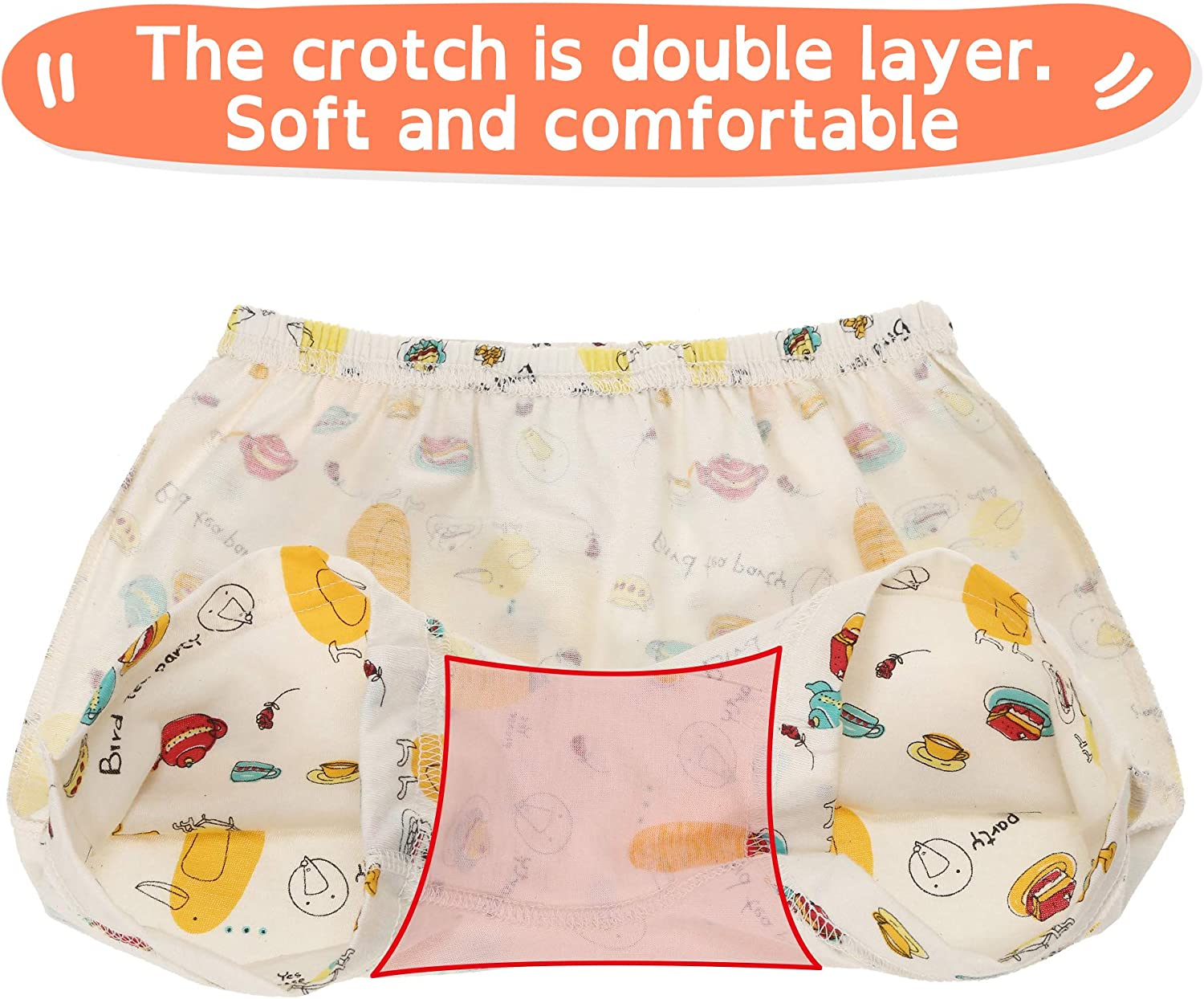 100/% Certified Organic Cotton WithOrganic Boxer Brief for Boys and Girls Fall Picnic, 7