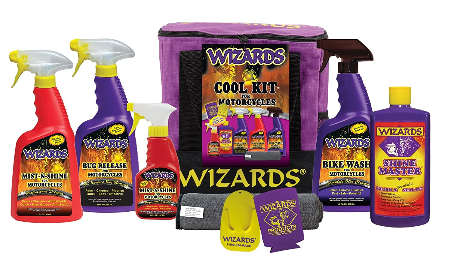 Wizards Products 22700 Motorcycle Cool Kit
