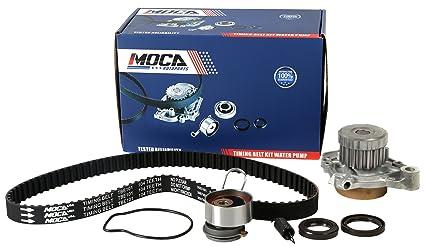 MOCA Timing Belt With Water Pump Kit for 2001-2005 Honda Civic 1 7L L4  D17A1 D17A2 D17A6 D17A7#TCK312