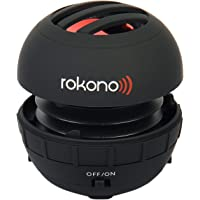 Rokono BASS+ Mini Speaker for iPhone/iPad/iPod / MP3 Player/Laptop - Black