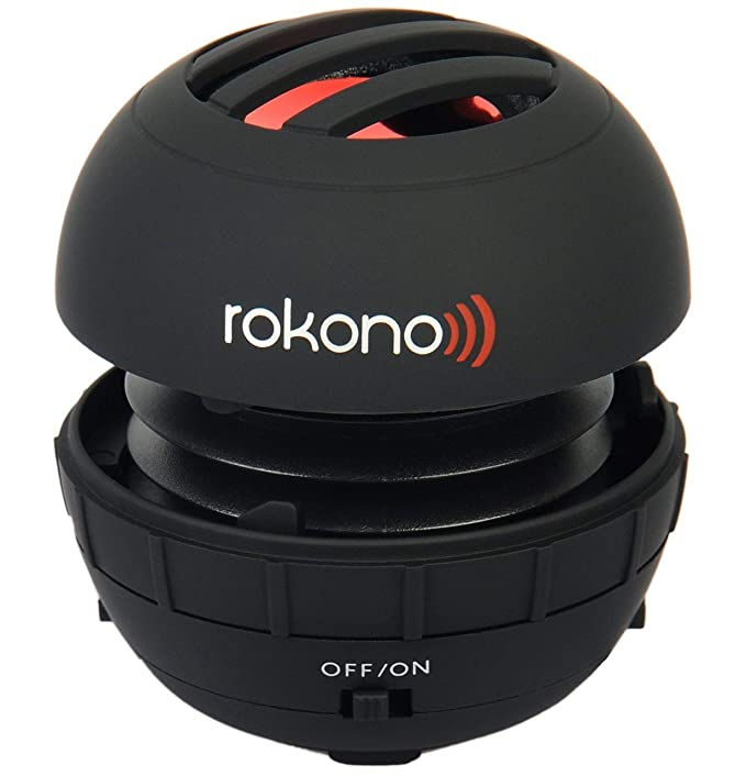 The Rokono BASS+ Mini Speaker for iPhone travel product recommended by Ollie Smith on Lifney.