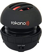Rokono BASS+ Mini Speaker for iPhone/iPad/iPod / MP3 Player/Laptop - Black