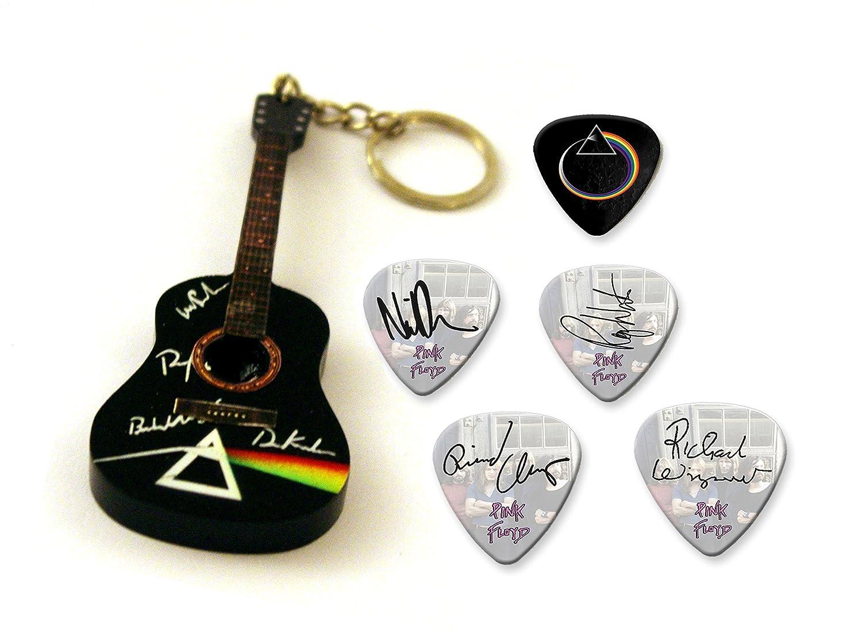 Pink Floyd The Wall Acrylic Gitarren-Keyring /& Matching Plektrum