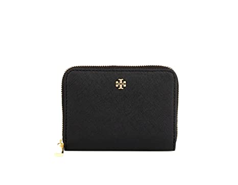 45274eb02266 Tory Burch Emerson Zip Coin Case Wallet 47391 at Amazon Women s ...