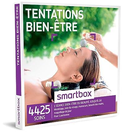 Smartbox Coffret Cadeau Femme Homme Tentations Bien être Idée Cadeau 4425 Soins 1 Séance Bien être Jusquà Une Heure Pour 1
