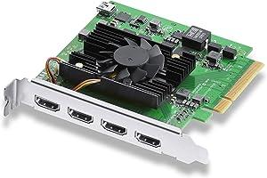 Blackmagic Design DeckLink Quad HDMI Recorder 4K PCIe Capture Card