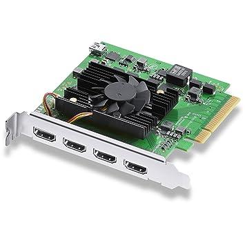 Blackmagic Design Tarjeta PCIe de Captura DeckLink Quad HDMI ...