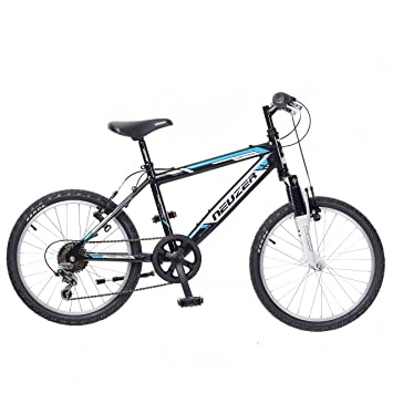c8a51bbd4c8 Neuzer Mistral 20 Boys Rigid 20 Inch Mountain Bike in Black with 6 Speed and  Alloy Frame: Amazon.co.uk: Sports & Outdoors