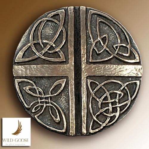 Wild Goose Celtic Love Cross Plaque Irish Gift Idea|TheIrishSt​ore Ireland