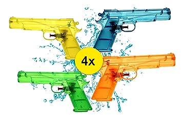 TK Group Timo Klingler Pistolas de Agua 4X Tamaño M Pistolas ...