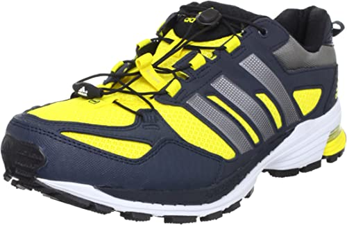 Forzado fertilizante cooperar  adidas Snova Riot 5 M Running Shoes Racers Trainers Mens Yellow Size: 8 UK:  Amazon.co.uk: Shoes & Bags