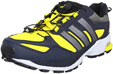 a7c327ab9b772 adidas Snova Riot 5 M Running Shoes Racers Trainers Mens Yellow Size  8 UK