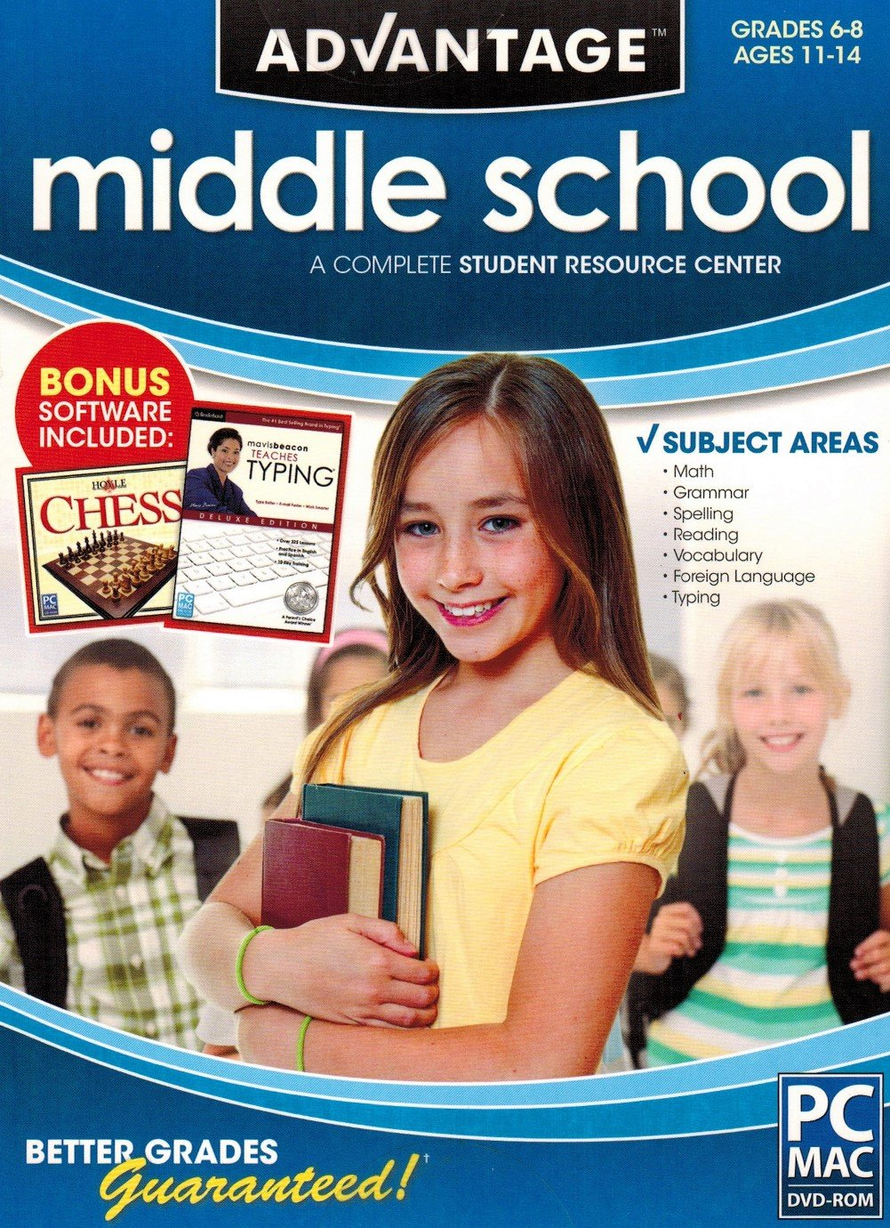 Advantage Middle School 2012 DVD-ROM (Windows / Macintosh) by Encore Software