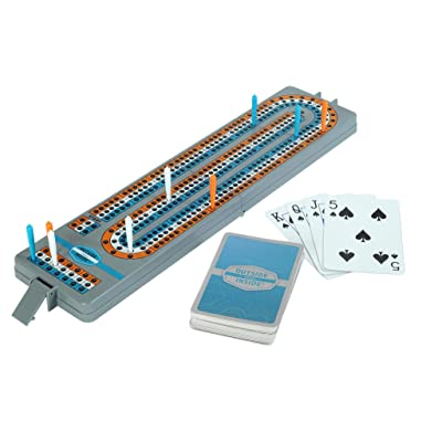 Outside Inside Backpack Cribbage Game for Camping and Travel, Lightweight and Foldable: Sports & Outdoors