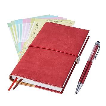 2019 Planificador mensual con bolígrafo de índice y agenda ...