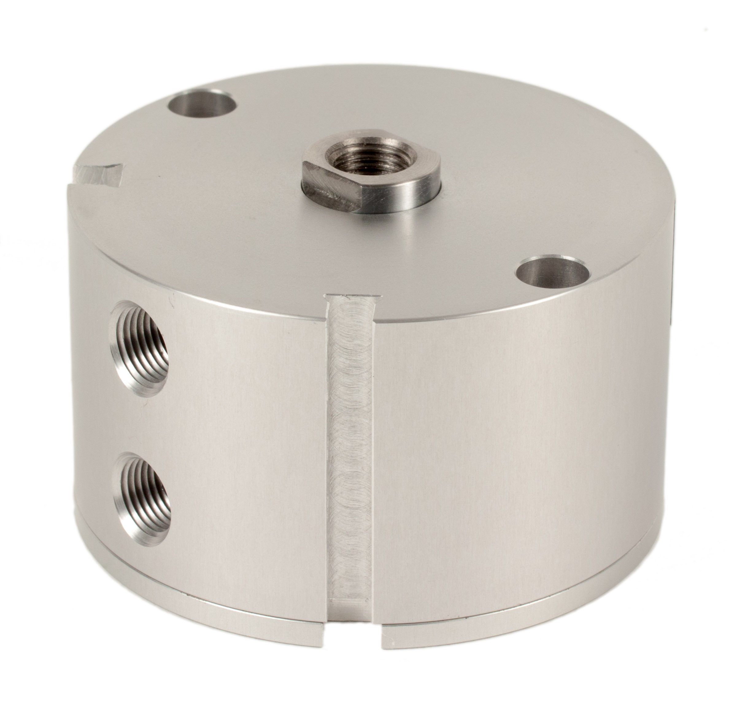 Fabco-Air B-221-X-E Original Pancake Cylinder, Double Acting, Maximum Pressure of 250 PSI, Switch Ready with Magnet, 1-5/8'' Bore Diameter x 1/2'' Stroke
