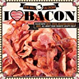 I Love Bacon Wall Calendar 2018 {jg} Best Holiday Gift Ideas - Great for mom, dad, sister, brother, grandparents, grandchildren, grandma, gay, lgbtq.
