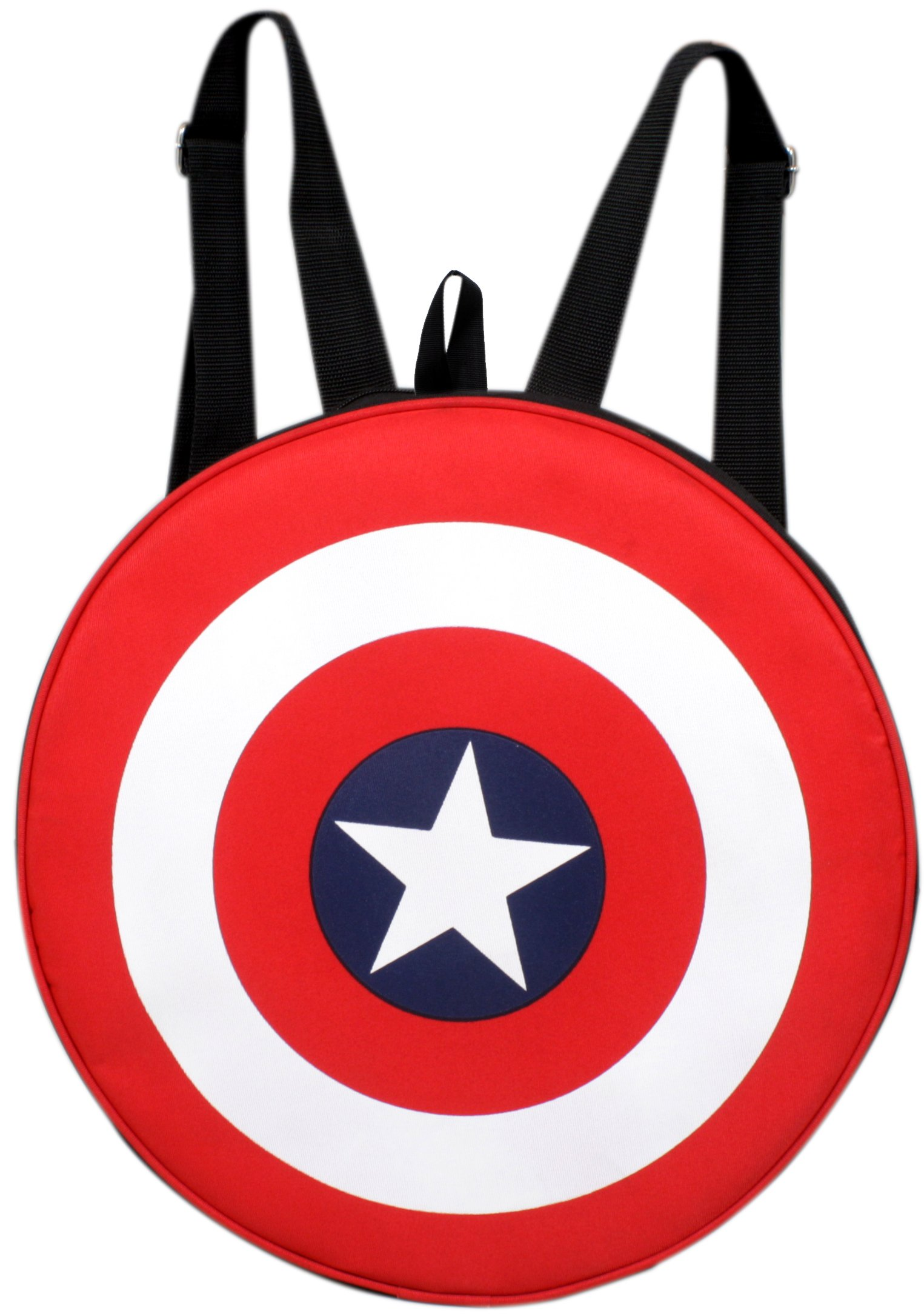 Auxter Red Polyester 20L Avengers Captain America Shield School Backpack product image
