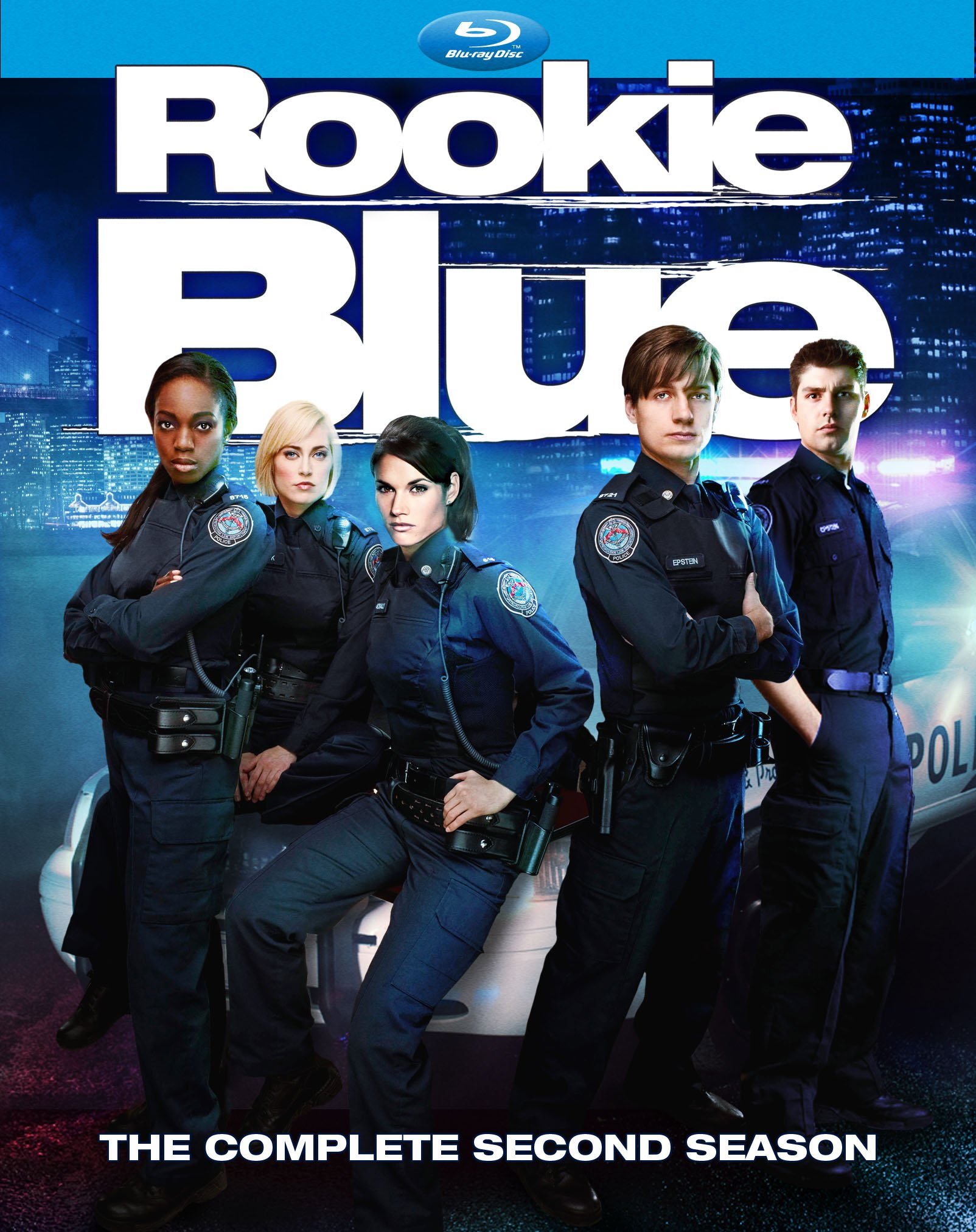 Blu-ray : Rookie Blue: The Complete Second Season (Boxed Set, Dolby, AC-3, 4PC)