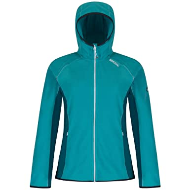 ab16861e2 Regatta Great Outdoors Womens/Ladies Seymour Zip Up Fleece Hoodie: Regatta:  Amazon.co.uk: Clothing