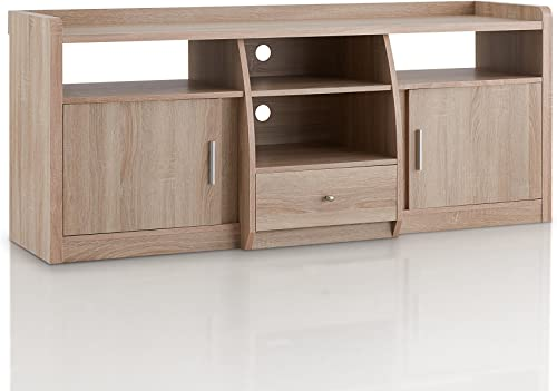 Furniture of America Witmer Contemporary 4 Open Shelves TV Stand