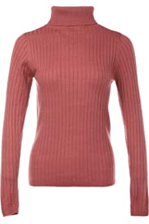 80325a2b6 Fifth Parallel Threads Women s Basic Ribbed Long Sleeve Turtleneck ...