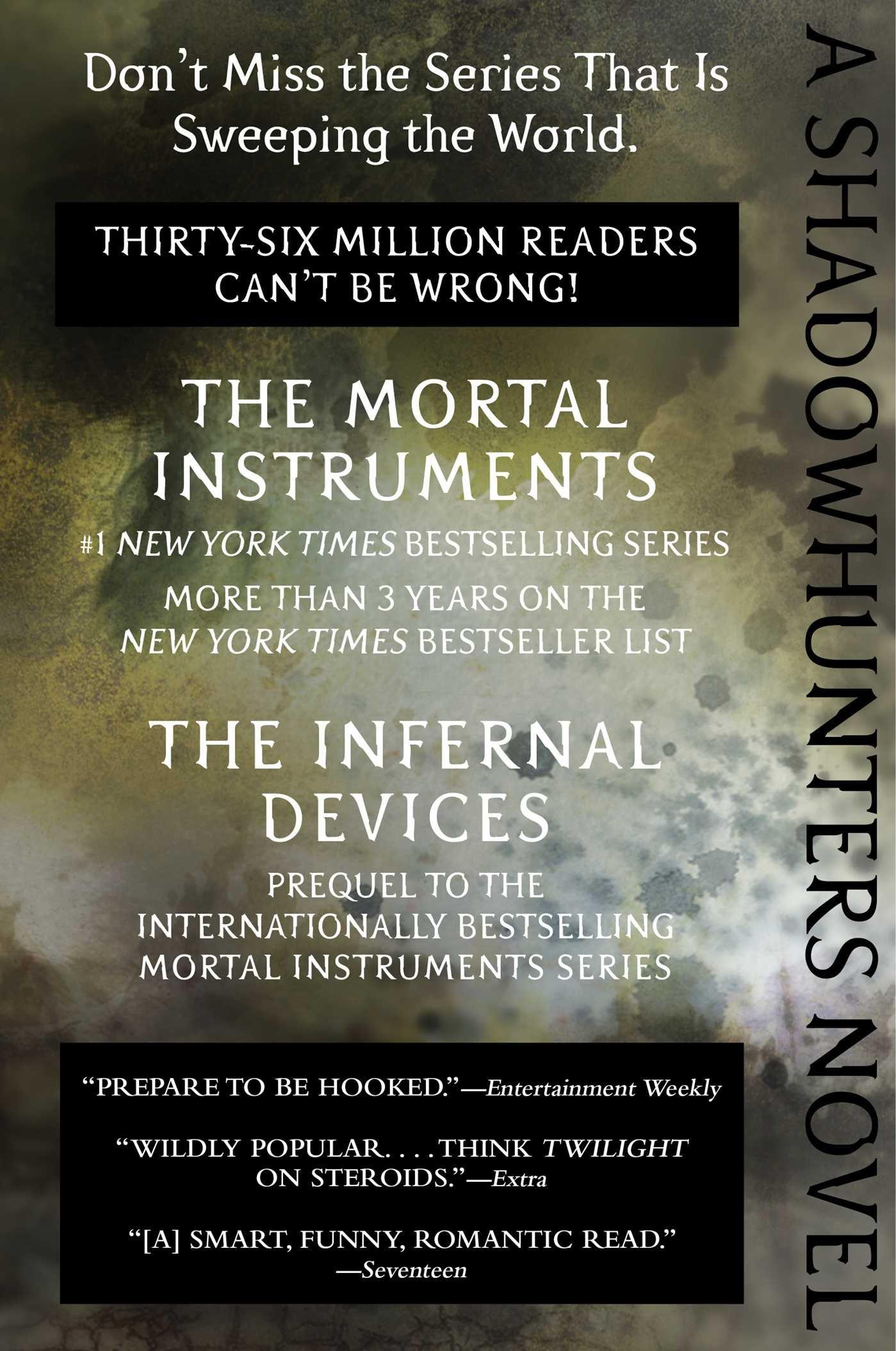 Amazon: Clockwork Prince (the Infernal Devices) (9781481456012):  Cassandra Clare: Books